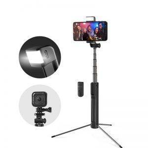 LED Light bluetooth Wireless Selfie Stick Tripod – Extendable Monopod For iPhone & Android Mobile Phone Accessories Selfie Sticks & Tripods 1ef722433d607dd9d2b8b7: China|Russian Federation|United States