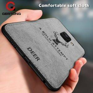 Deer Cloth Texture Phone Case For Samsung Mobile Phones Phone Cases & Cover cb5feb1b7314637725a2e7: Black|Blue|Red|Silver