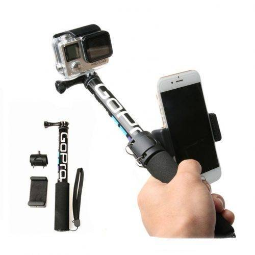 Handheld Monopod Self Selfie Stick for Mobile Phones – Adapter Selfie Sticks & Tripods cb5feb1b7314637725a2e7: Monopod And Holder|Only Monopod|Only Phone Holder