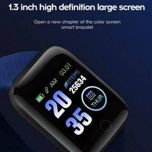 Blood Pressure Smart Watch Heart Rate Wristband Sports Bracelet Wrist Watches cb5feb1b7314637725a2e7: Black|dark blue|Green|Purple|Red